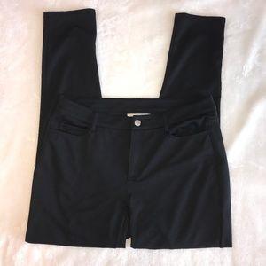 Michael Kors Black knit jeans pants 8